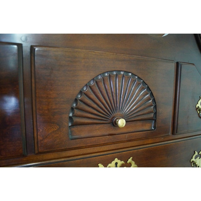 Statton Chippendale Style Highboy Dresser - Image 6 of 10