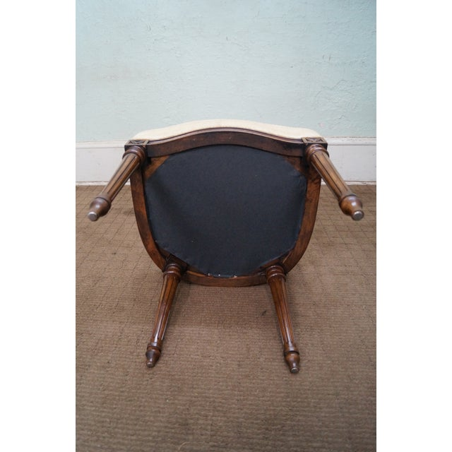 Karges Walnut French Style Walnut Dining Chair - 4 - Image 9 of 10
