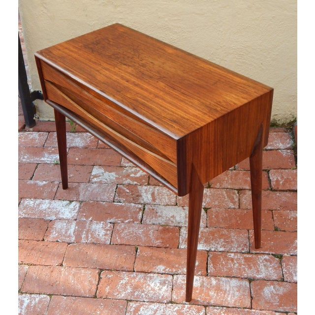 Swedish Mid-Century Modern Mini-Chest in Rosewood - Image 4 of 8