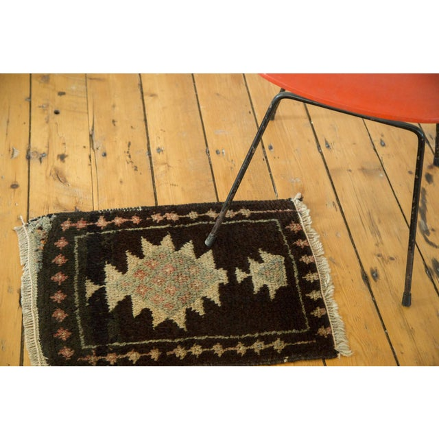 Vintage Oushak Square Rug Mat - 1′5″ × 1′11″ - Image 2 of 5