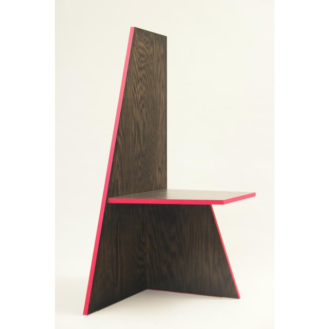 Modern Contemporary Sculptural Chair For Sale - Image 3 of 8