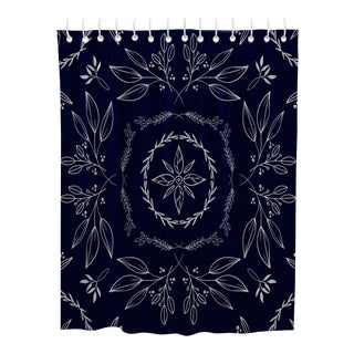 Blue Country Chic Shower Curtain For Sale