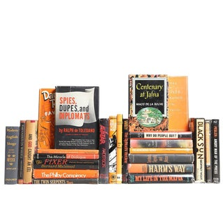 Midcentury Novels in Black & Orange, S/25