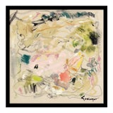 "Image of Medium ""Begins With a Thought"" Print by Lesley Grainger, 22"" X 22"" For Sale"