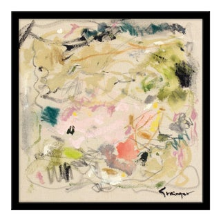 "Medium ""Begins With a Thought"" Print by Lesley Grainger, 22"" X 22"""