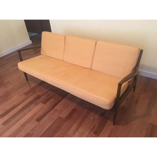 Selig Selig Sofa by Ib Kofod Larsen For Sale - Image 4 of 4