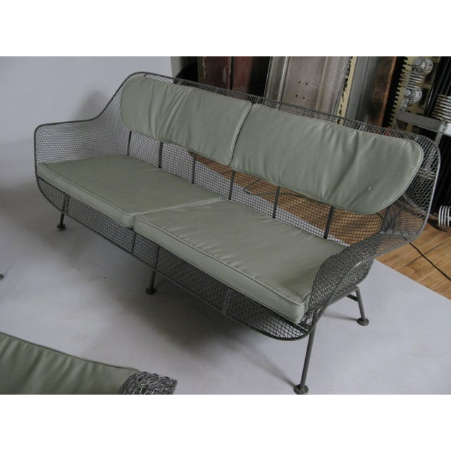 1950s 1950s Sculptura Sofa and Pair of Lounge Chairs by Russell Woodard For Sale - Image 5 of 7