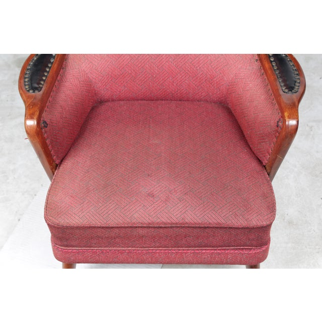 1960s Danish Modern-Style Armchairs - A Pair - Image 5 of 10