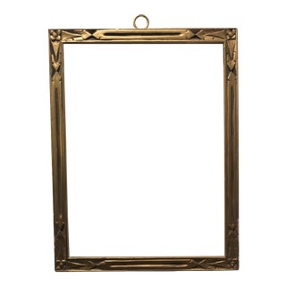 1910s Foster Bros. Arts & Crafts Gilt Picture Frame