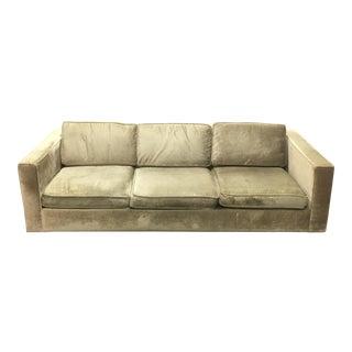 Jonathan Adler Sand Linen Sofa