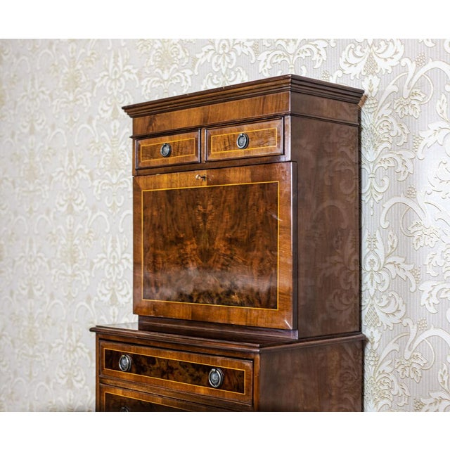Late 19th-Century Secretary Desk For Sale - Image 6 of 13