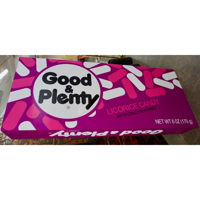 """Iconic candy form the 50's,transformed and supersized into a work of art.Resin based and painted, recreating the """"Good..."""