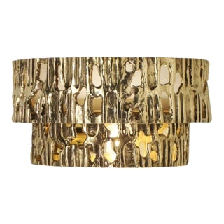 Due Fasce Wall Sconce by Angelo Brotto for Esperia For Sale