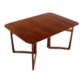 Peter Hvidt & Orla Mølgaard Nielsen for France & Daverkosen Architectural Dining Table, 1950s For Sale