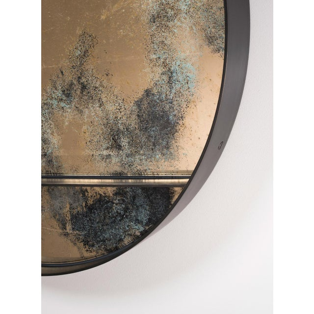 The Orbit Wall Mirror by Emma Peascod For Sale - Image 4 of 6