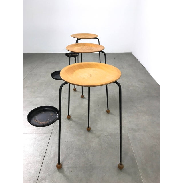 Mid-Century Modern Tony Paul Tempo Group Tablettes - Set of 3 For Sale - Image 3 of 7