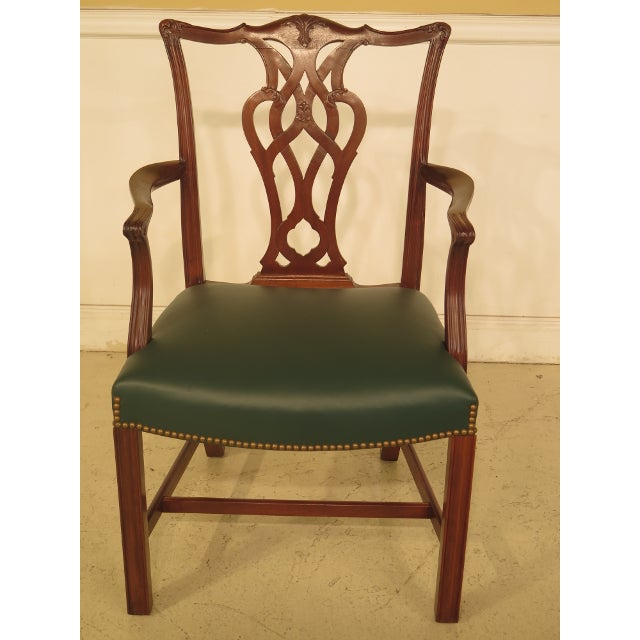 Chippendale Mahogany Dining Room Chairs - Set of 8 - Image 3 of 11