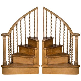Antique Pine Stair Steps For Sale