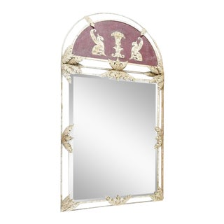 John Richard Metal Framed Mirror For Sale