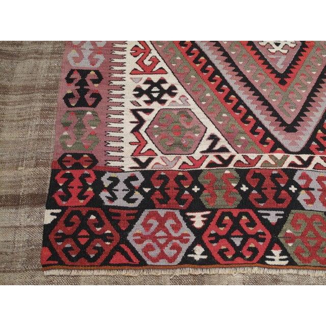 Islamic Fethiye Kilim For Sale - Image 3 of 6