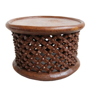 Natural Bamileke Stool
