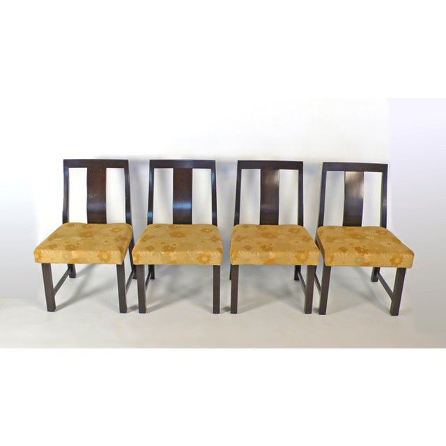 8 Edward Wormley Dining Chairs For Sale In Dallas - Image 6 of 6