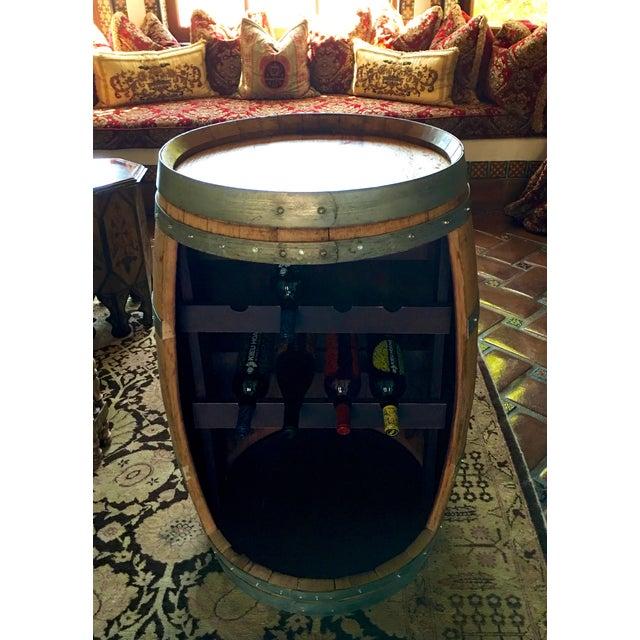 Barrel Form Wine Rack Bar - Image 2 of 3