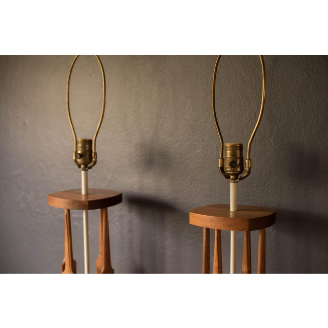 Westwood Lamps Mid-Century Modern Tony Paul for Westwood Lamps - a Pair For Sale - Image 4 of 11