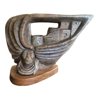 D Van Fleet Southwestern American Sculpture