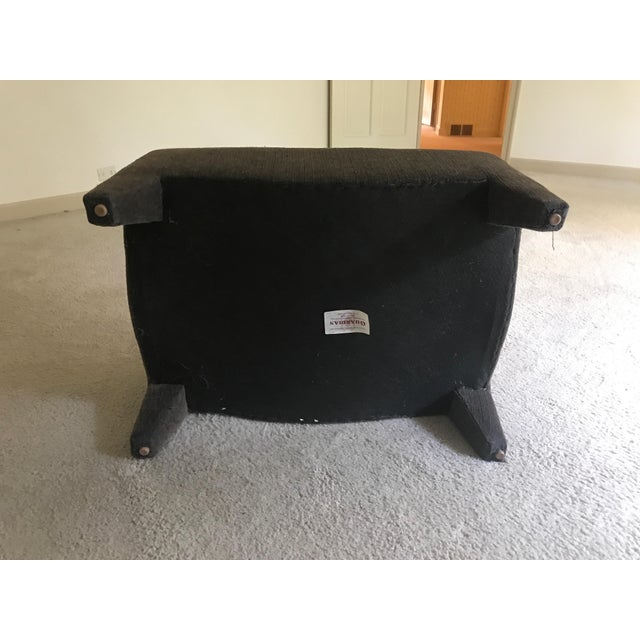 Room & Board Club Chair & Ottoman For Sale - Image 10 of 11