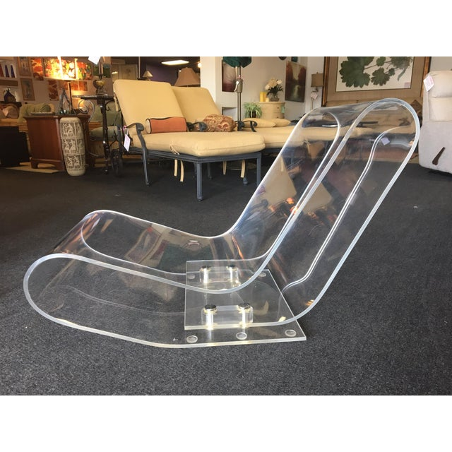 Designed by Maarten Van Severen for Kartell in Italy. Modern design. A single extrusion of clear acrylic plastic which...