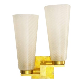 Doppio Cono Sconces by Fabio Ltd For Sale