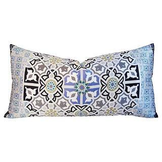 Italian Silk Andalusian Moorish Pillow For Sale