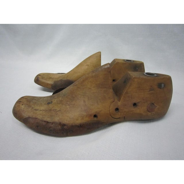 Wooden Shoe Forms- A Pair - Image 4 of 5
