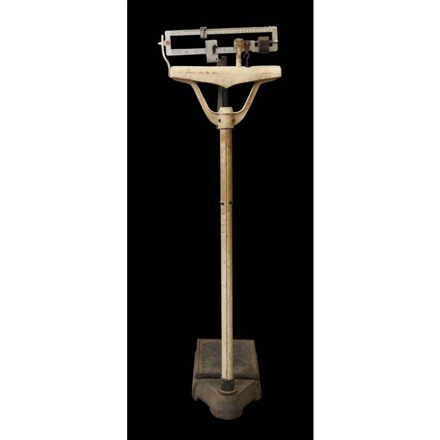 Metal Doctors Standing Scale For Sale - Image 7 of 8