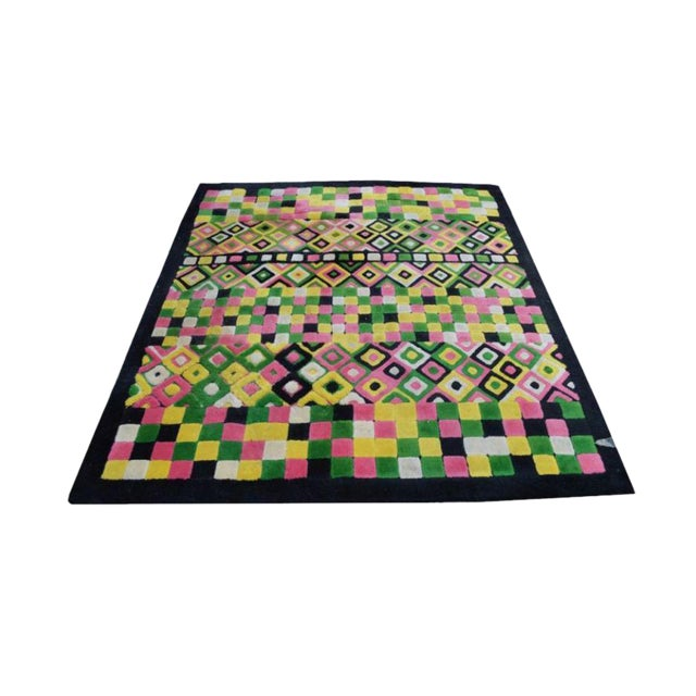 Colorful Edward Fields Rug - 8' x 9' For Sale