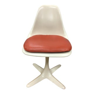 Mid-Century Modern Tulip Dining Chair in Saarinen Style by Burke, Usa, 1970s For Sale