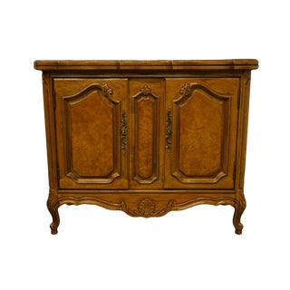 "Thomasville Furniture French Court Collection 38"" Cabinet Flip Top Sideboard For Sale"