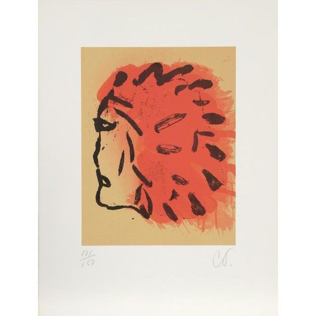 Claes Oldenburg Claes Oldenburg, Indian Head from Peace Portfolio, 1972 For Sale - Image 4 of 5