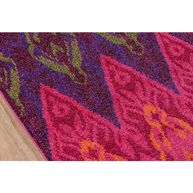 "Traditional Contemporary Momeni Casa Polypropylene Multi Area Rug - 7'10"" X 9'10"" For Sale - Image 3 of 6"