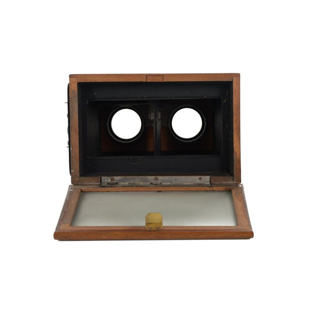 Stereoscope Wooden Viewer by Verascope Richard For Sale - Image 10 of 10