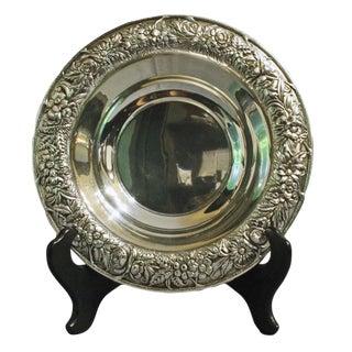 Kirk Repoussé Sterling Bowl For Sale
