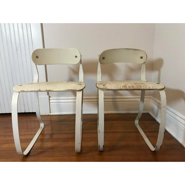 Herman A. Sperlich Ironite Health Chairs by Herman Sperlich - A Pair For Sale - Image 4 of 9