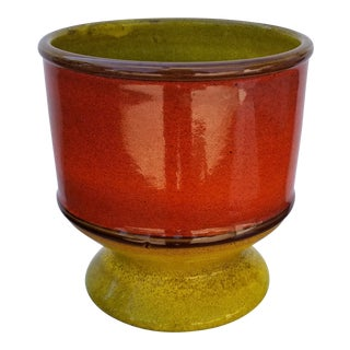 Vintage Italian Ceramic Bowl /Vase For Sale