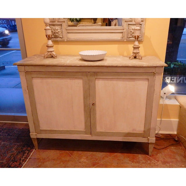 Early 19th Century Italian Painted Buffet For Sale - Image 10 of 10