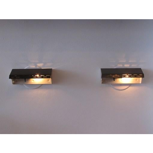 Enameled Dutch Wall Lights - A Pair - Image 9 of 10