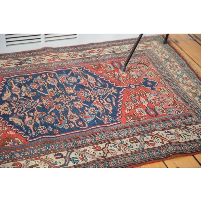 "Islamic Antique Bijar Rug - 3'7"" X 5'3"" For Sale - Image 3 of 7"