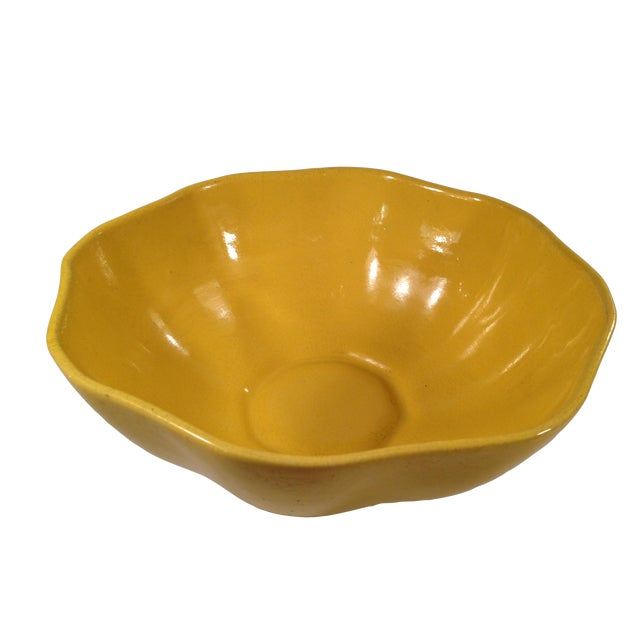 Yellow Padre Pottery Bowl - Image 1 of 5