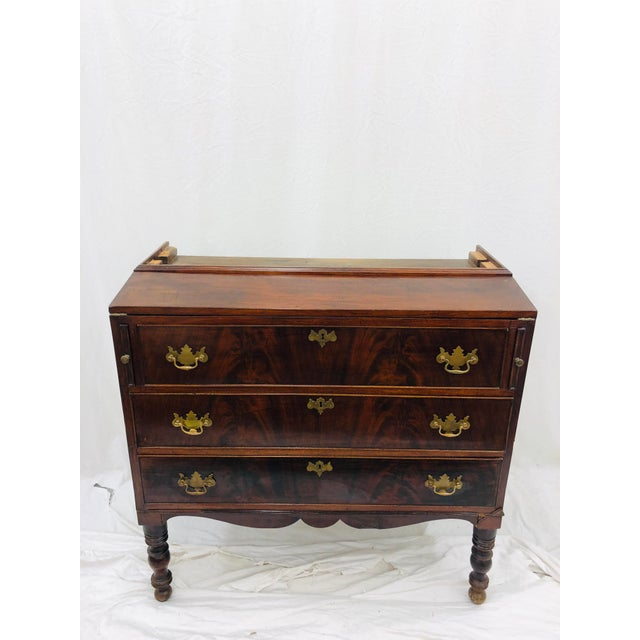 Antique Secretary Cabinet For Sale - Image 11 of 13