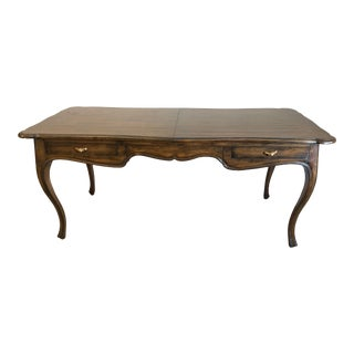 French Louis XV Mahogany Solid Wood Table For Sale